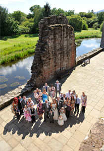 Caerlaverock Castle Romantic Wedding Venue