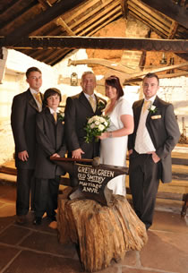 Gretna Old Blacksmiths Shop wedding venue